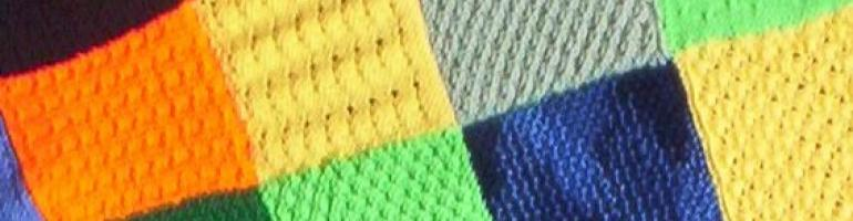 how to join knitted squares