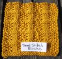 Seed Stitch Blocks